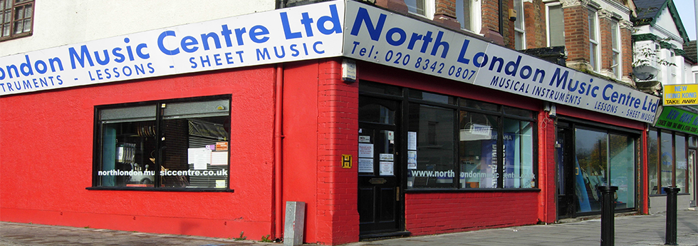 Due to an unfortunate incident North London Music Centre is currently closed until further notice. Please visit our sister shop at http://Hertsmusiccentre.co.uk or visit our Facebook page http://www.facebook.com/NLMCShop